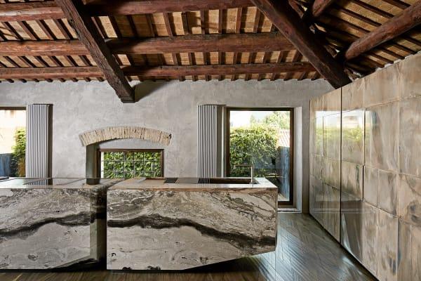 Die Küche von Paolo Tormena, CEO des Möbelherstellers Henge.