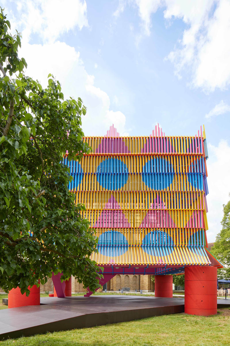 The Colour Palace von Yinka Ilori