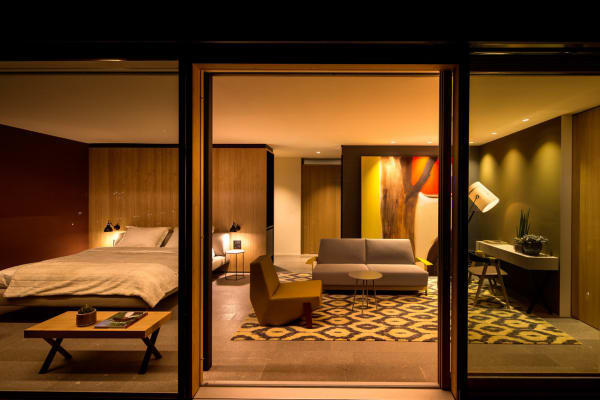 "Das Moroso Penthouse im Hotel ""Muchele""."