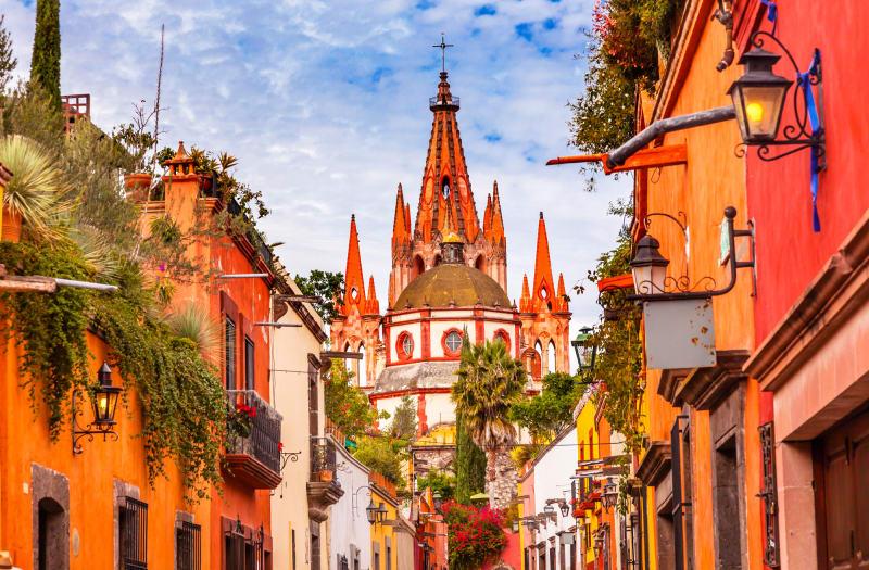 1. San Miguel de Allende, Mexiko
