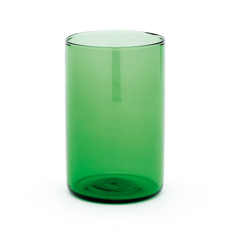 "Zahnputzbecher ""Simple High Glass Green"", Empoli Glasses"