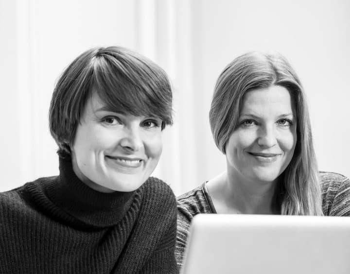 Melissa Antonius (li.) und Lena Schimmelbusch.