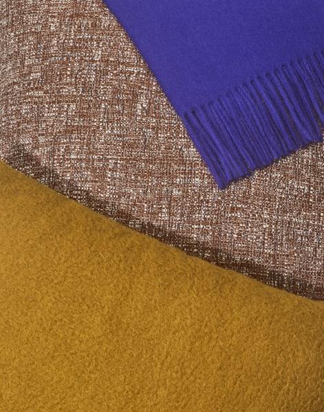 Die Accessoires wurden auf der Basis sich ergänzender Farbtöne und Texturen entwickelt.