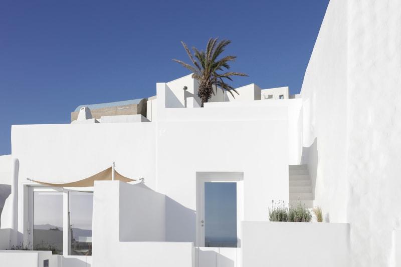Sommerhaus Fira, Hausfront
