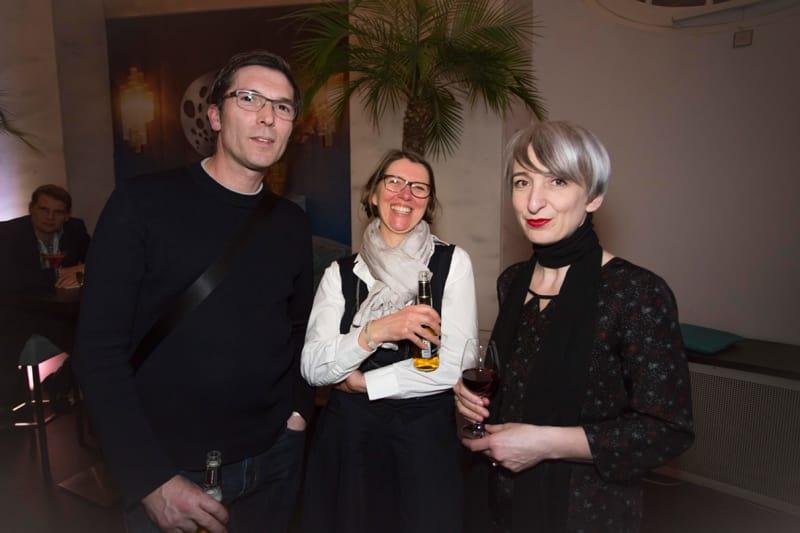 Cem Bora, Claudia Herke und Annetta Palmisano