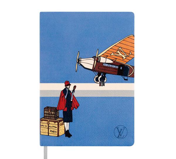 """Ledernes Notizbuch """"Carnet Emma"""" für 130Euro von Louis Vuitton."""