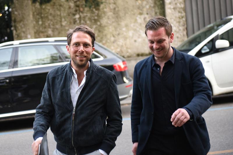 Emanuel Sirch und Matthias Lehner.