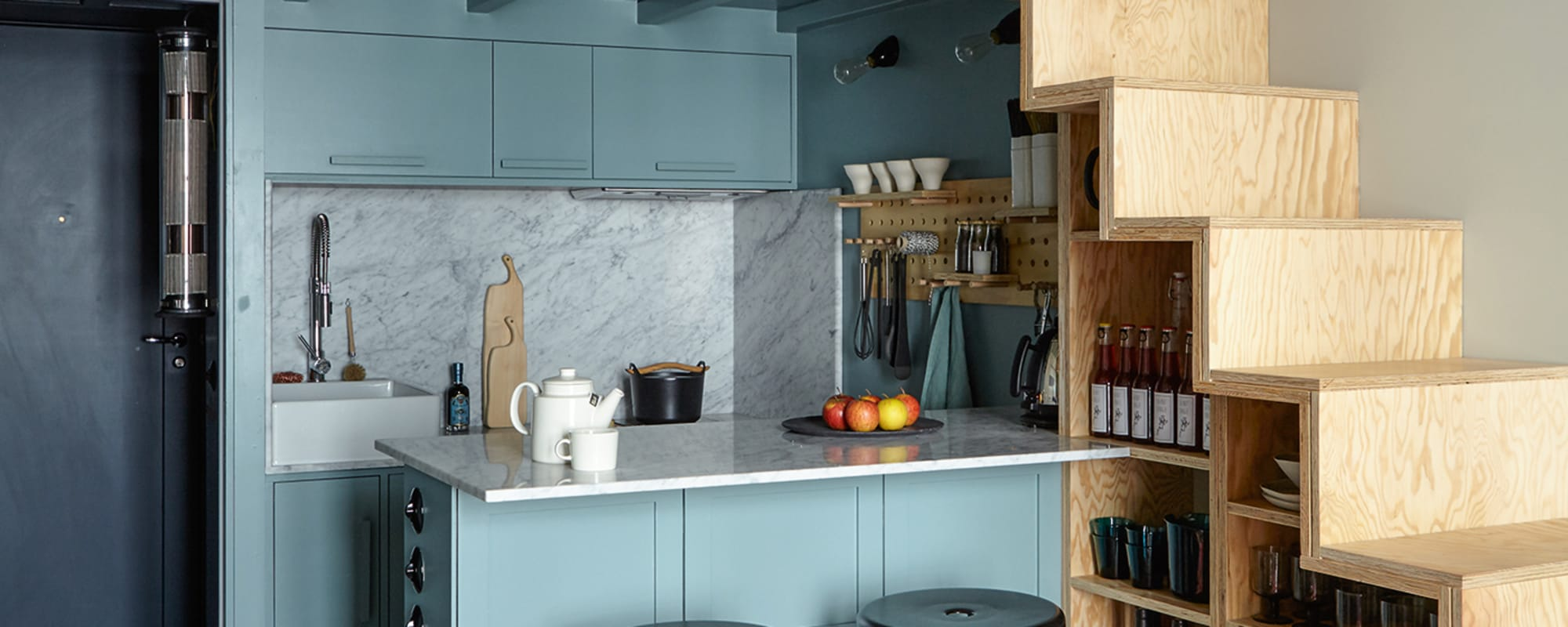 AD, Küche, Interior, Design, SmallSpaces, Wohnen