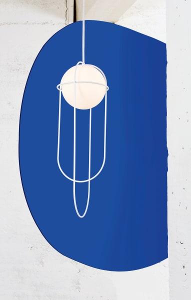 """Umlaufbahnen aus Stahl ersann Lukas Peet für Leuchte """"Orbit"""" von Andlight, 625 Euro."""
