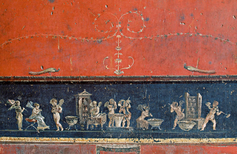 Pompeji: Fries in der Antike