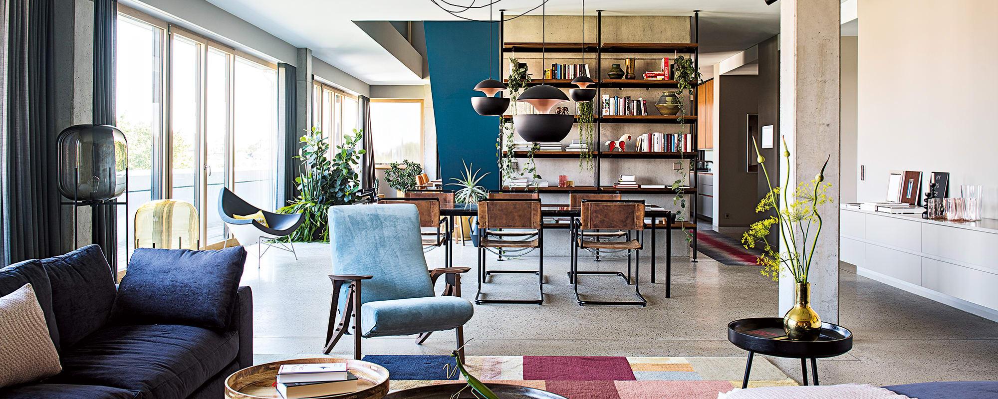 loft interieur mit schlichtem design bilder, bfs design gestaltet berliner loft - ad, Design ideen