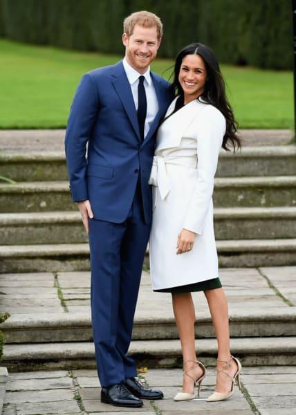 Das Hochzeitspaar der Stunde: Prinz Harry und Meghan Markle.