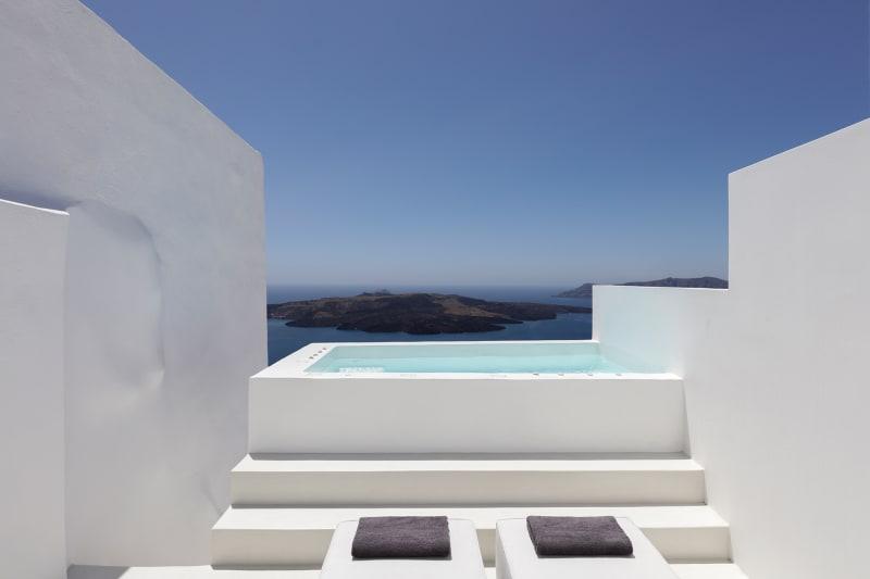 Sommerhaus Fira, Pool