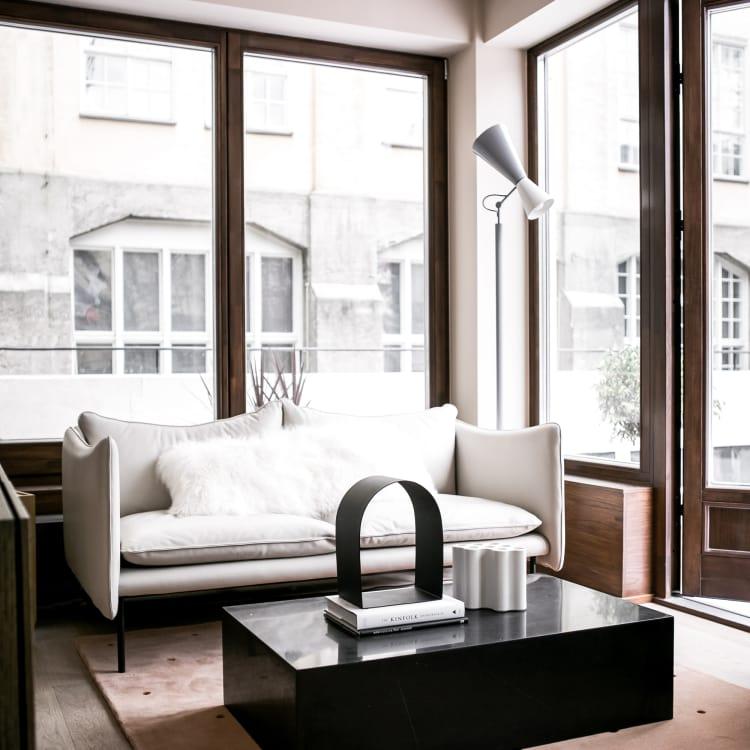 Küche in Stockholms Mono-Apartments von Note Design Studio - AD