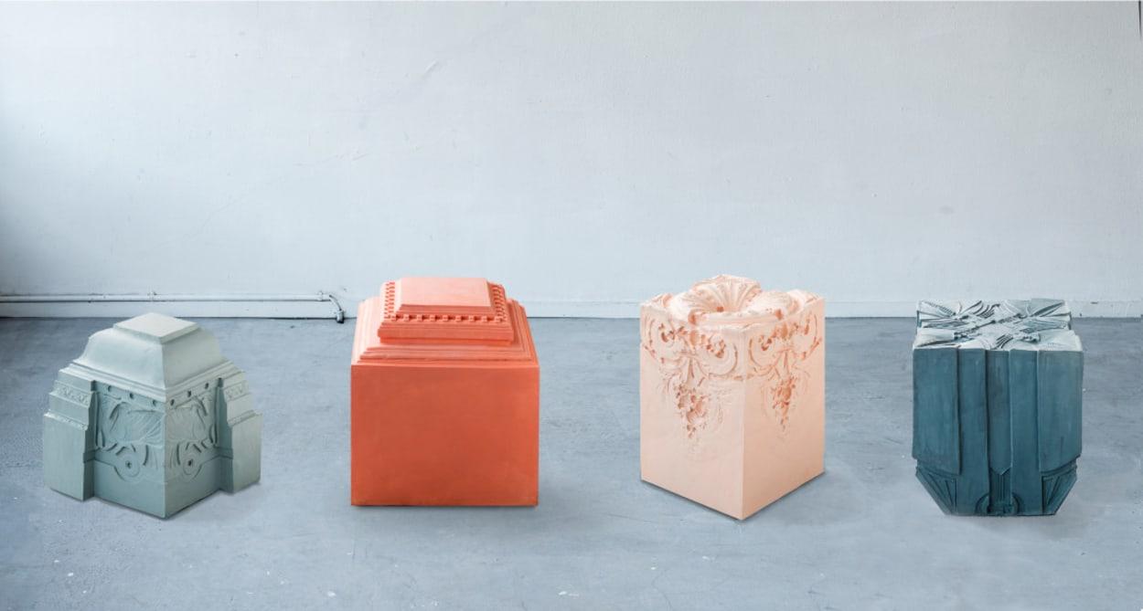 Nynke Koster, Barock, Architekturfragmente, Schaumstoff