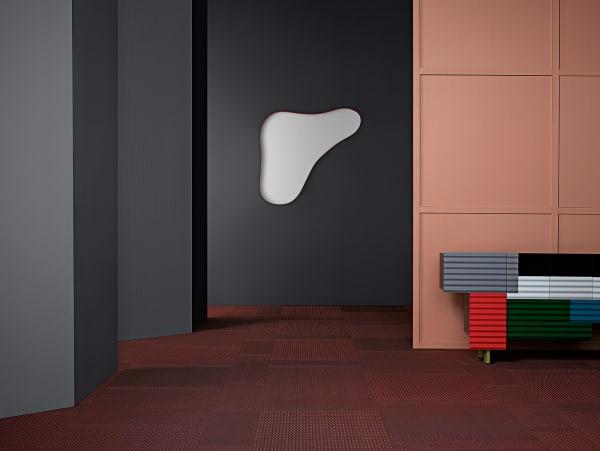 """Neun Dessins umfasst die Serie """"Bolon By You"""". Fäden mit strukturierter Oberfläche, die sich ebenso für das Jacquardweben eignen, zaubern 3D-Effekte und lichtreflektierende Muster."""