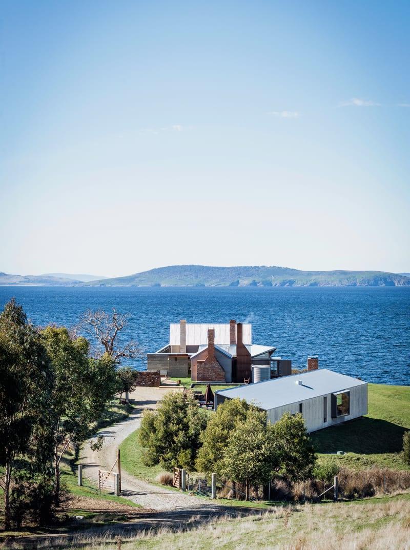 Bruny Island, Kapitänshaus