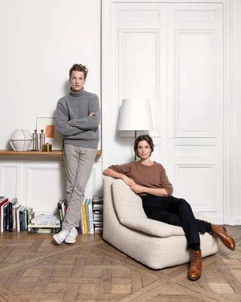 Charlotte de Tonnac und Hugo Sauzay.