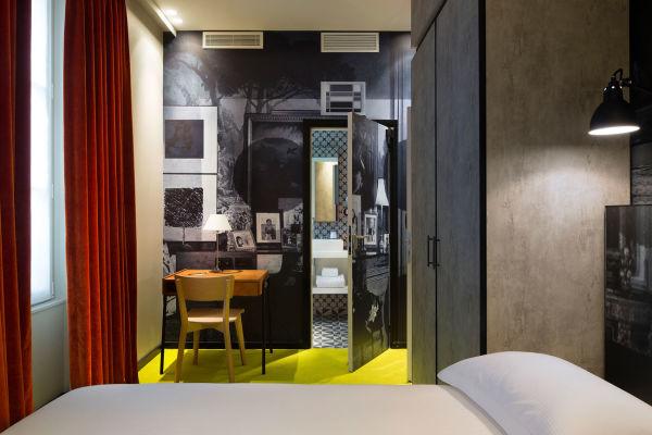 Eine Suite im Hotel l'Antoine.