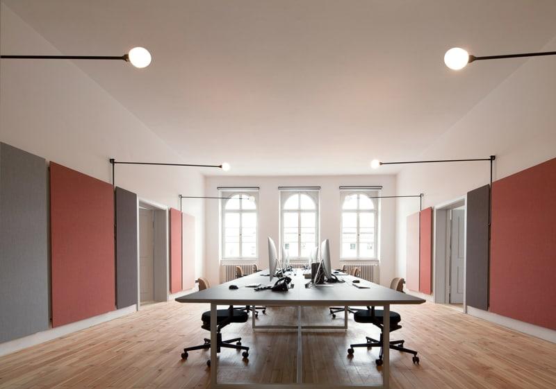 Arnold Werner Büro Großraum