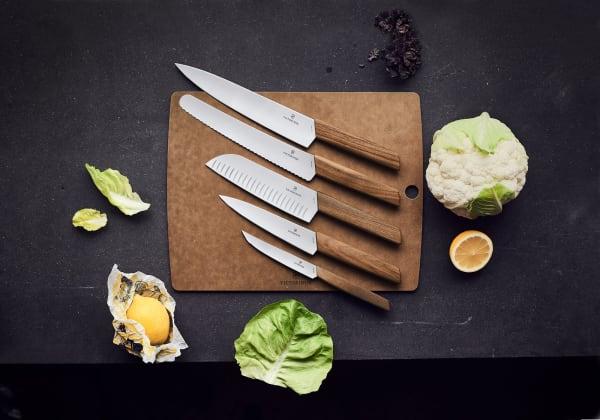 Gewinnen Sie ein fünfteiliges Messerset von Messerset.