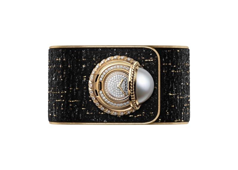 "Chanel Uhr ""Mademoiselle Privé Bouton Perle"""