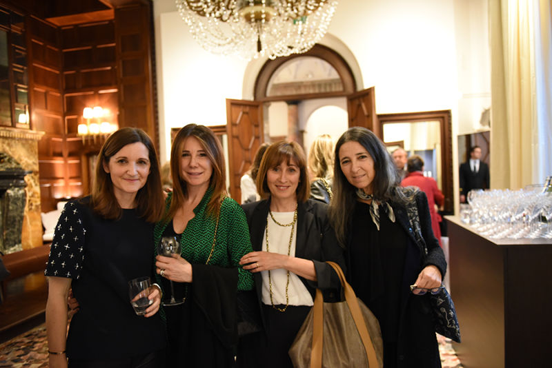 Susanne Förg Randazzo, Ana Clara Allesina, Maria Vittoria Mezzanotte und Silvana Maghella.