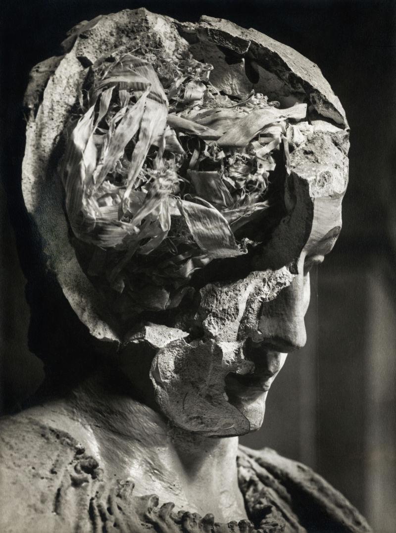 Josef Sudek, Gipskopf, um 1947