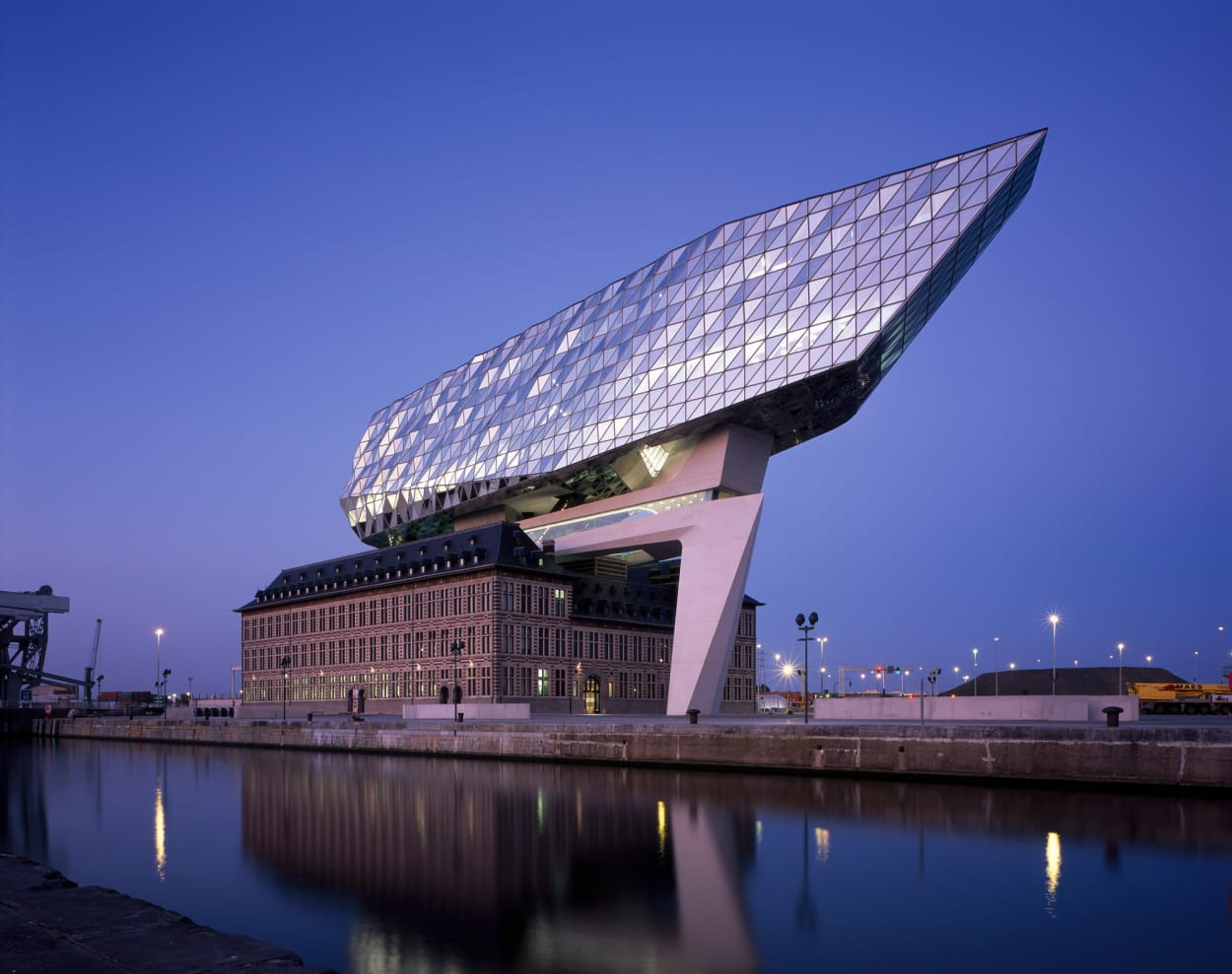 Zaha Hadid, Port House, Antwerpen Architektur