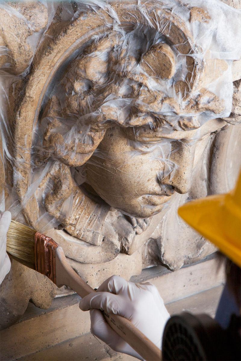 Restaurierung Galleria Vittorio Emanuele II