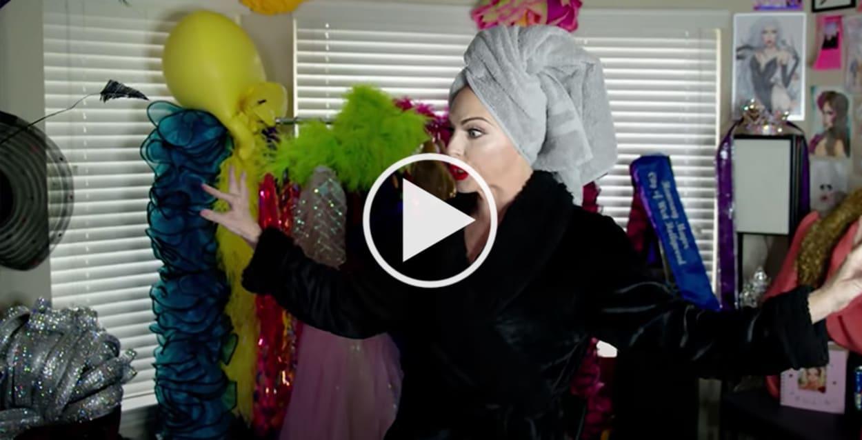 Alyssa Edwards, Dragqueen, Open Door, Video, Homestory, Texas