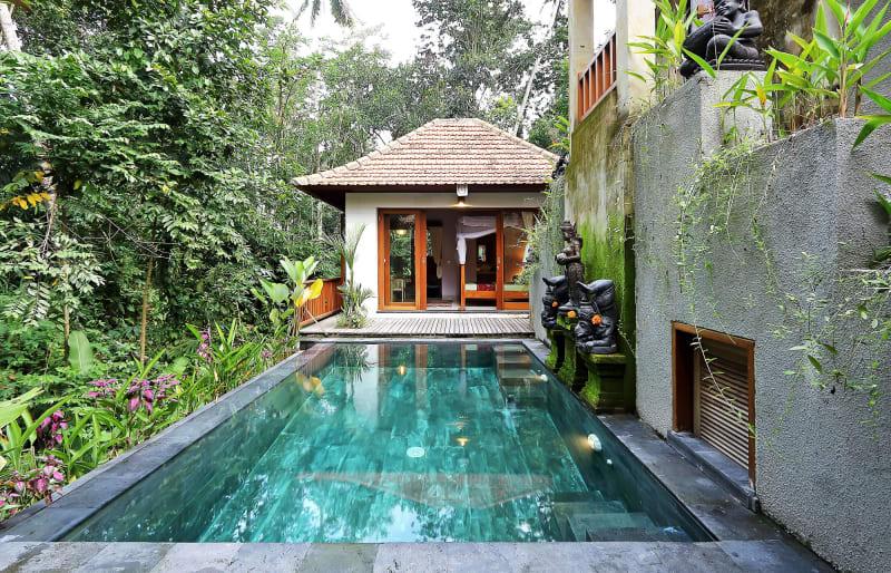 3. Indonesien, Villa auf Bali