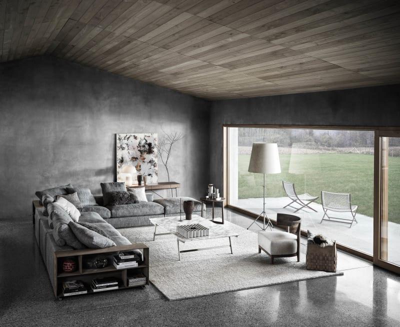 """Groundpiece""-Sofa Flexform"
