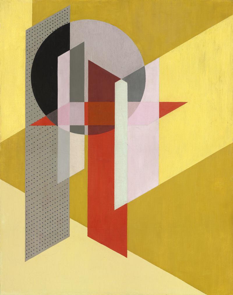 László Moholy-Nagy Konstruktion Z-VII 1926 National Gallery Washington