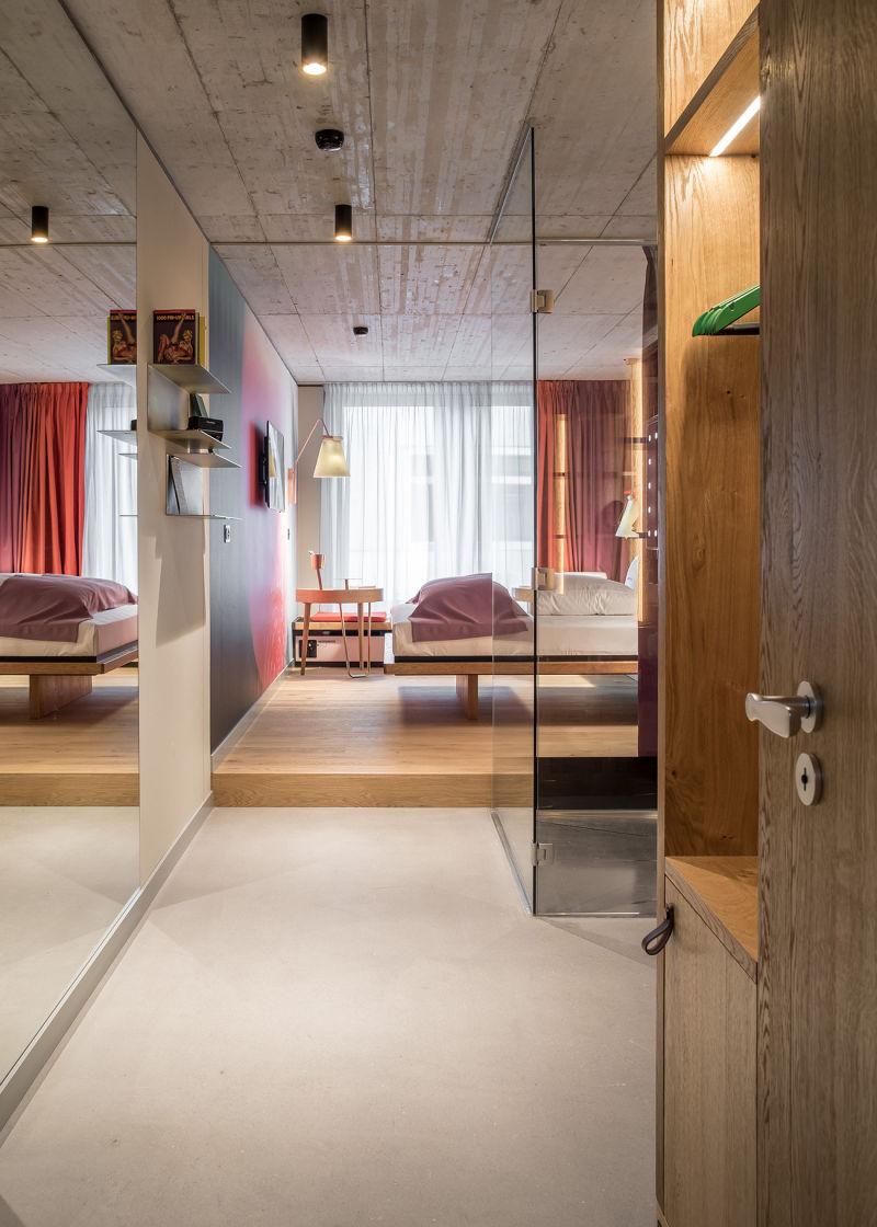 25 hours Zürich Zimmer a