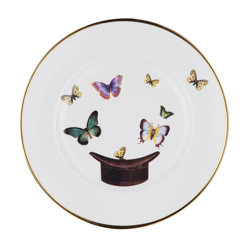 Melody-Rose-Hat-and-Butterflies-Bone-China-Dinner-Plate(1)