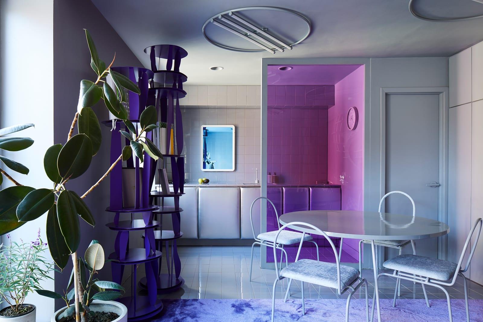 Harry Nuriev Nolita Apartment Wohnküche