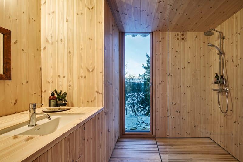 Badezimmer Skigard Hytte