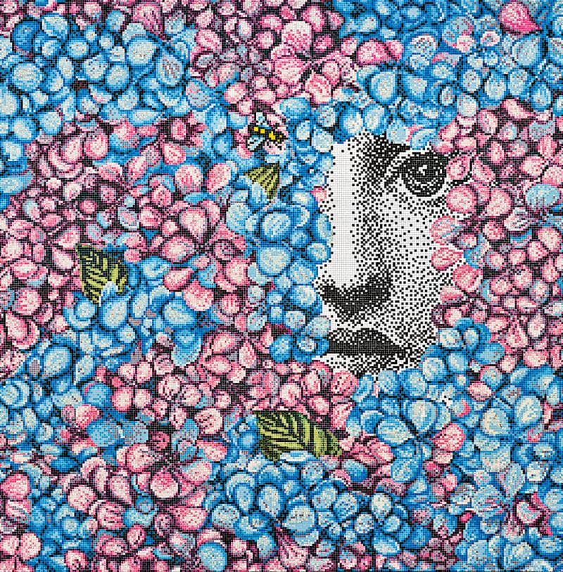 Mysteriöses Mosaik
