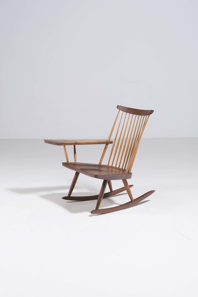 PIASA Nakashima Rocking chair