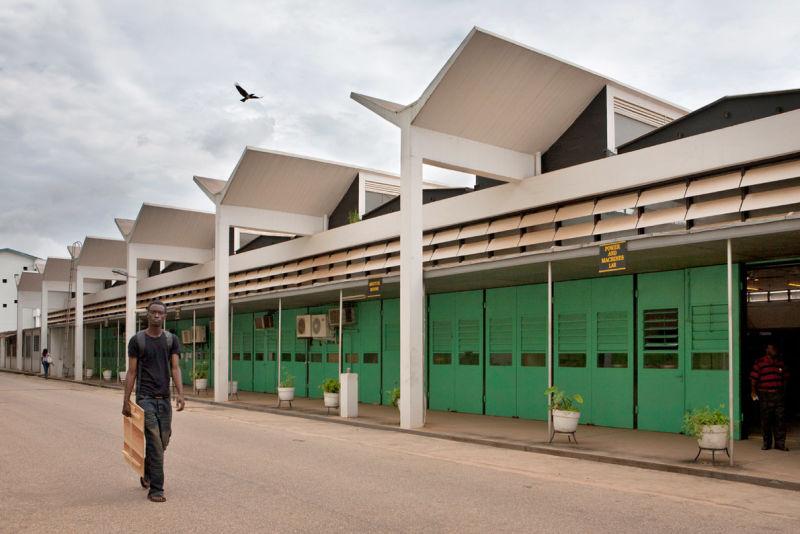 School of Engineering at KNUST (Kwame Nkrumah University of Science and Technology), Kumasi (Ghana), von James Cubitt, 1956.