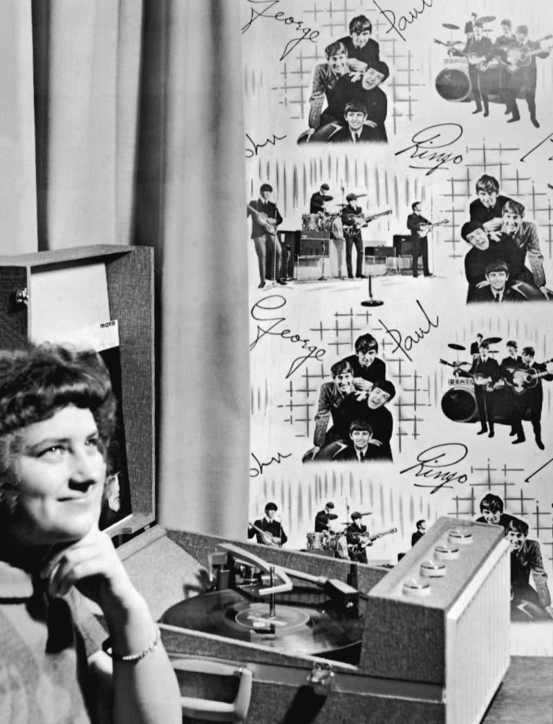 Plattenspieler 1965