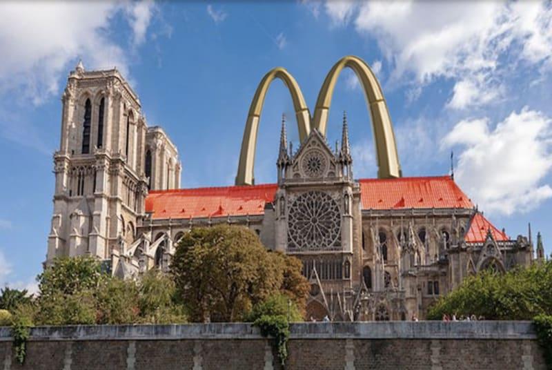 Notre Dame als McDonald's