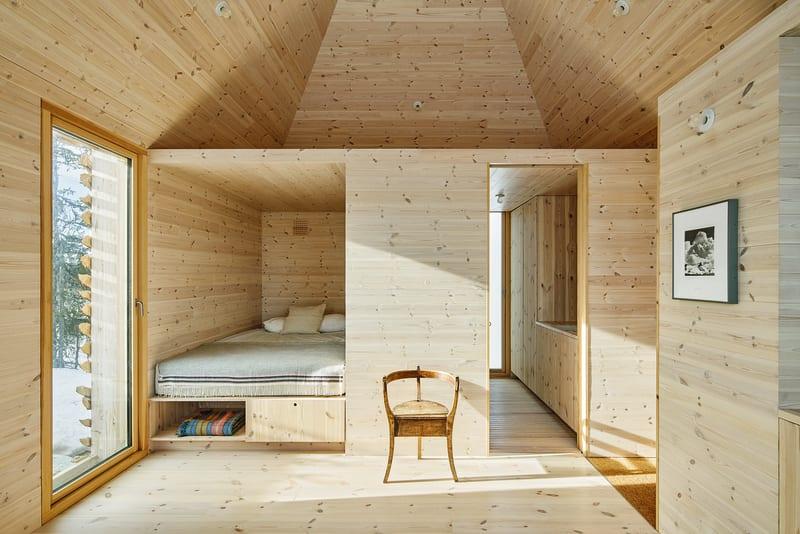 Schlafzimmer Skigard Hytte