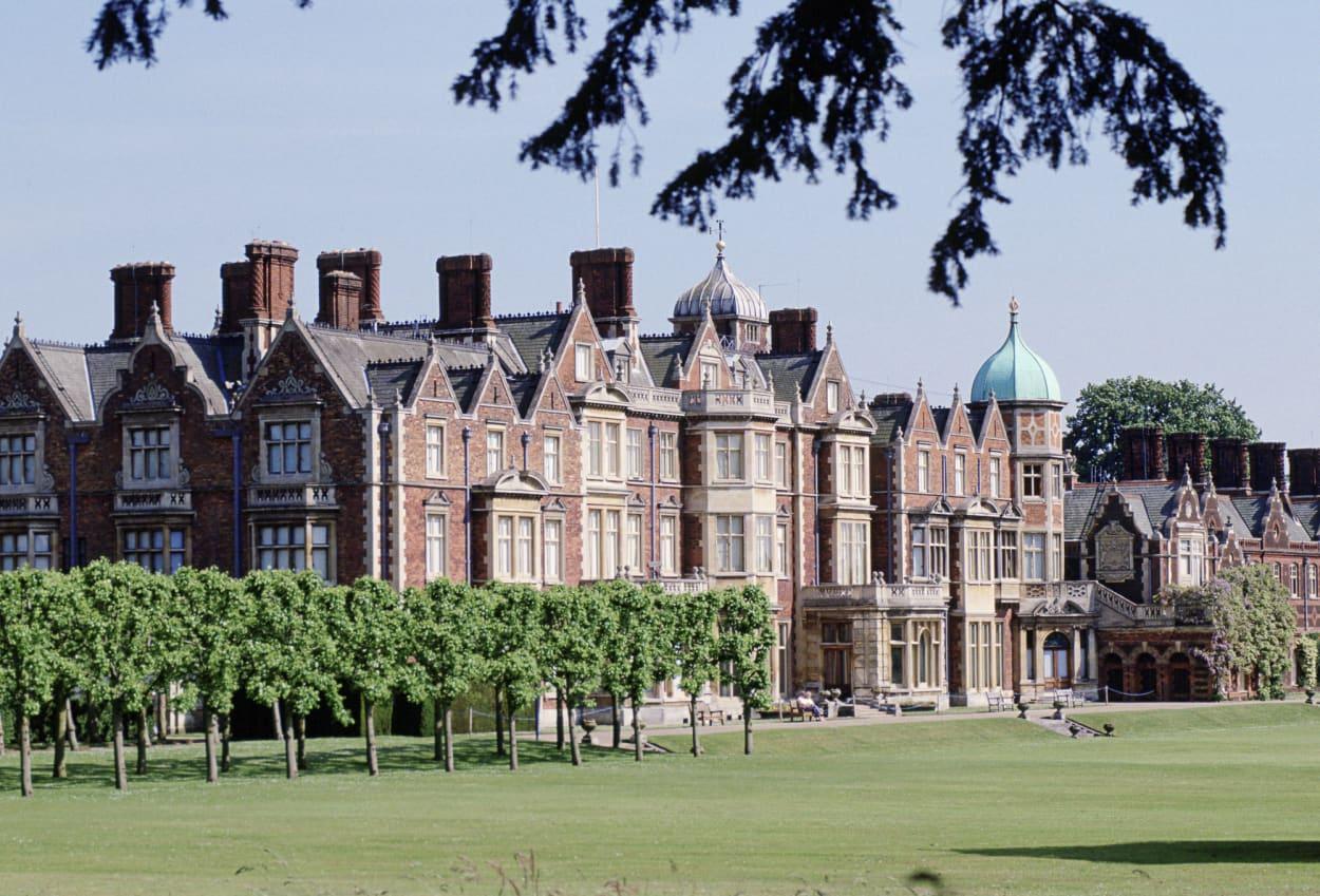 Sandringham House, Queen, UK, Anwesen, Schloss, Royal Family
