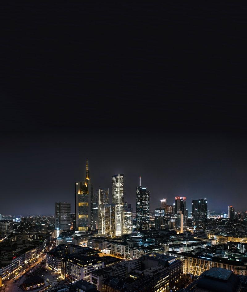 3. Hochhäuser im Frankfurter Bankenviertel