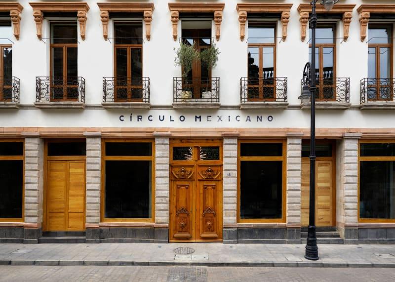 Hotel Círculo Mexicano in Mexiko Stadt: die Fassade