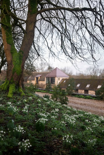 Easter Farm Park ist seit gut 15 Jahren das Zuhause von Richard Parr und seiner Familie – und zugleich die ländliche Außenstelle seines Londoner Architekturbüros.