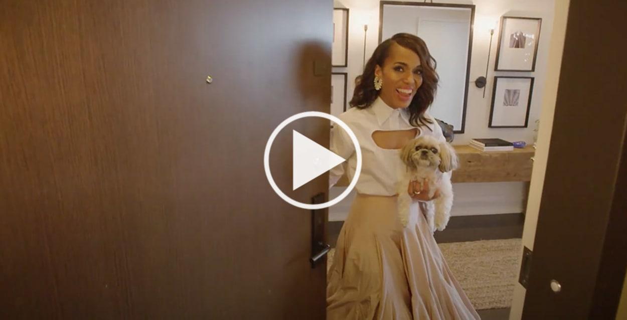 Kerry Washington, Open Door, Video, New York City, Homestory