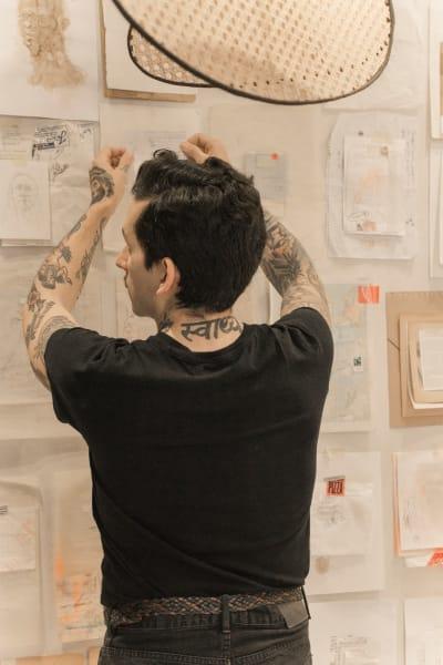 Armando Mesíasist einer von mehr als hundert Künstlern, die Teil der Initiative sind.